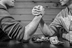 Kapitalismus ist schlecht - es gilt: möge der Reichere gewinnen
